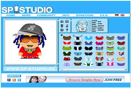 Trasformare una foto in cartone animato con South Parker Studio