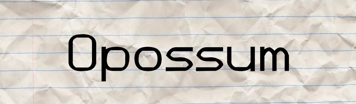 15 Font Sci-Fi e Futuristici da Scaricare Gratis - Opossum