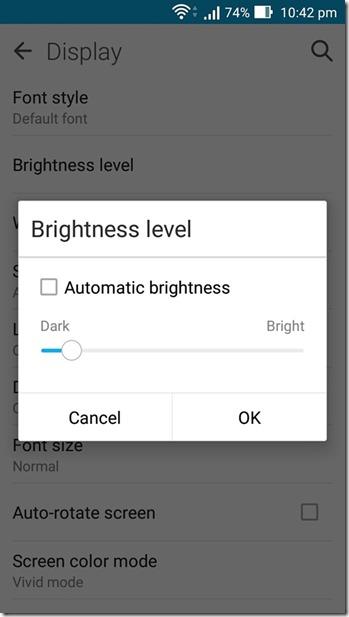 Come Evitare il Surriscaldamento del tuo Telefono Android - Luminosità