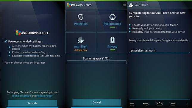 I Migliori 5 Antivirus Android Gratis del 2016 - AVG