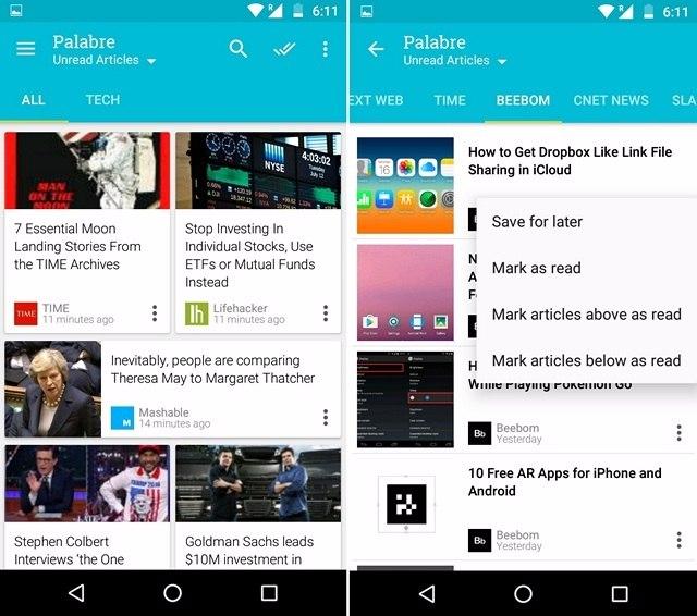 Le Migliori 5 App RSS Reader per Android - Palabre
