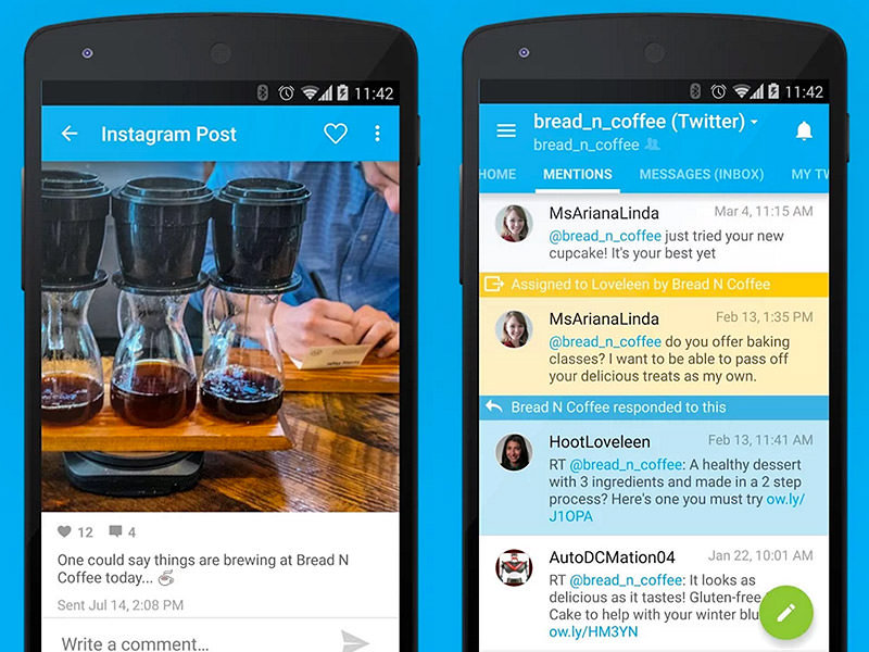Le Migliori 5 App Twitter Gratis per Android - HootSuite