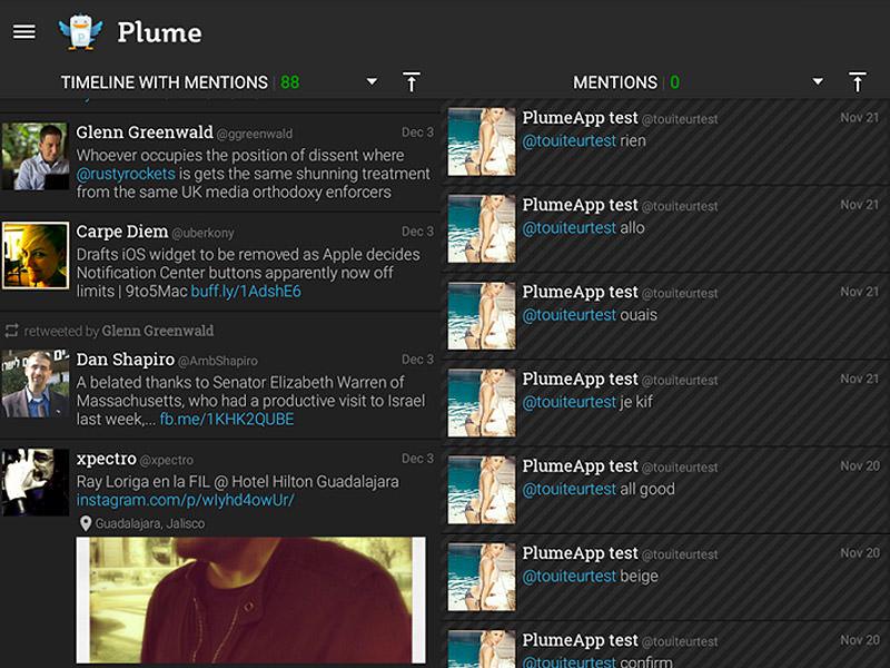 Le Migliori 5 App Twitter Gratis per Android - Plume