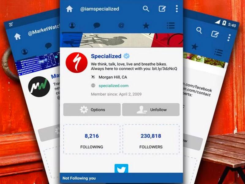 Le Migliori 5 App Twitter Gratis per Android - TweetCaster