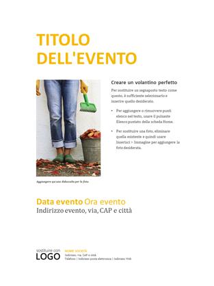 Modello n.8 di Volantini Pubblicitari in Word e PowerPoint