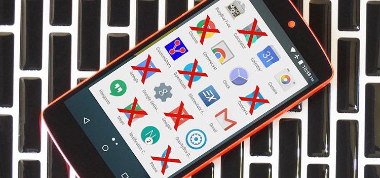 Guida alla rimozione dei bloatware su Android
