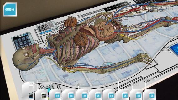 Utili App con Realtà Aumentata per Android e iOS - Anatomy 4D