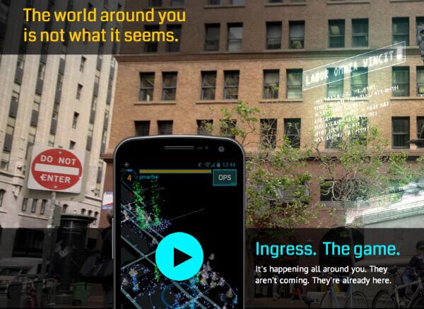 Utili App con Realtà Aumentata per Android e iOS - Google Ingress