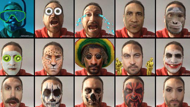 App Gratis per Trasformare i Selfie in Emojis, Adesivi e Musica - MSQRD
