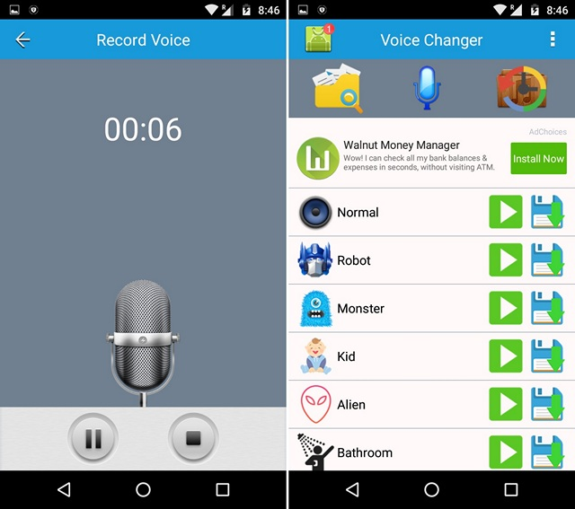 App per Cambiare Voce per Android e iOS - Best Voice Changer