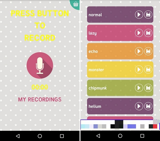 App per Cambiare Voce per Android e iOS - Voice Changer Androbaby