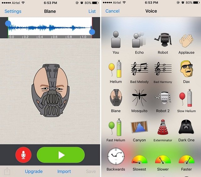 App per Cambiare Voce per Android e iOS - Voice Changer Plus