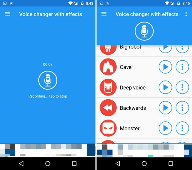 App per Cambiare Voce per Android e iOS - Voice Changer with Effects