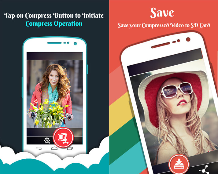 App per Comprimere Video su iPhone e Android - Video Compressor Android