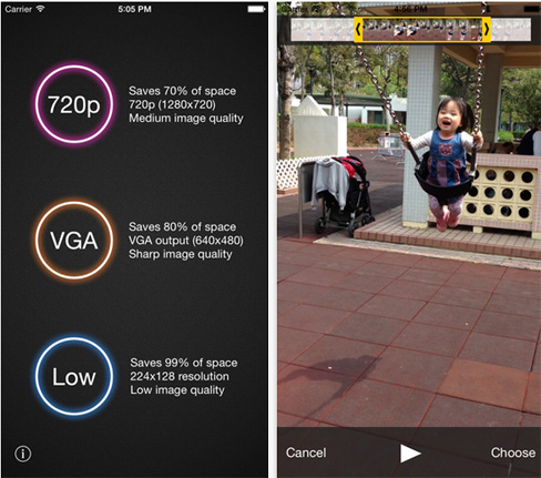 App per Comprimere Video su iPhone e Android - Video Compressor iPhone