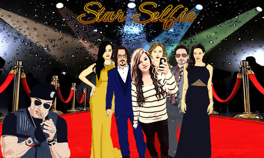 App per Fotomontaggi e Selfie con Personaggi Famosi - Star Selfie Hollywood