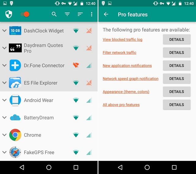 Come Bloccare l'Accesso ad Internet a Specifiche App su Android - NetGuard
