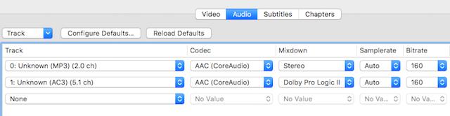 Come Ridurre la Dimensione dei Video Senza Perdita di Qualità - Ridurre l'audio