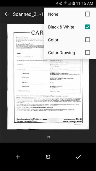 Come Scannerizzare in PDF con la Fotocamera del Telefono Android - Opzioni Google Drive