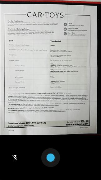 Come Scannerizzare in PDF con la Fotocamera del Telefono Android - Scansione fotocamera