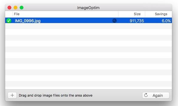 Modificare o Eliminare i Dati Exif dalle Foto - ImageOptim
