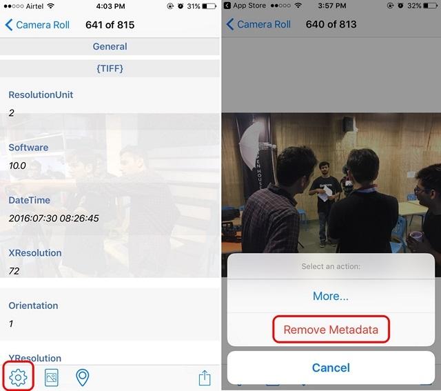 Modificare o Eliminare i Dati Exif dalle Foto - Metadata Remover