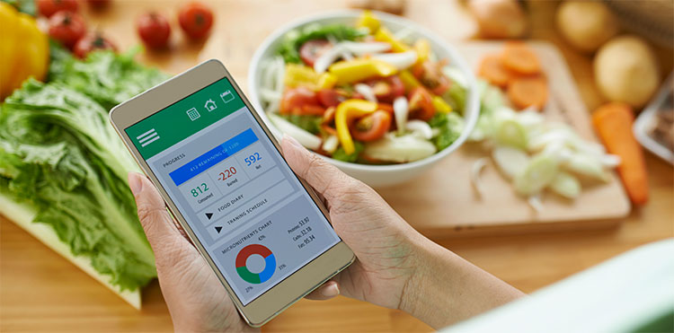 App per contare le calorie su Android