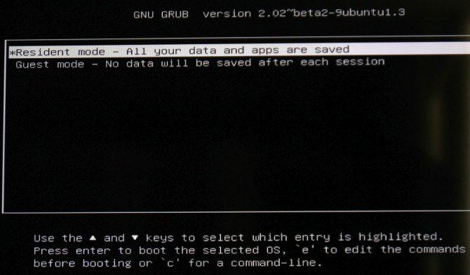 Prima schermata di Remix OS