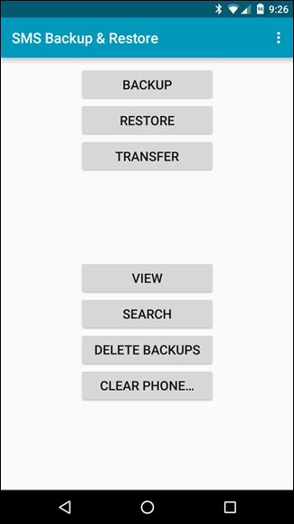 Come Trasferire gli SMS tra due Telefoni Android con SMS Backup & Restore