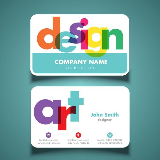 25 Originalissimi Template per Biglietti da Visita da Scaricare Gratis - Design