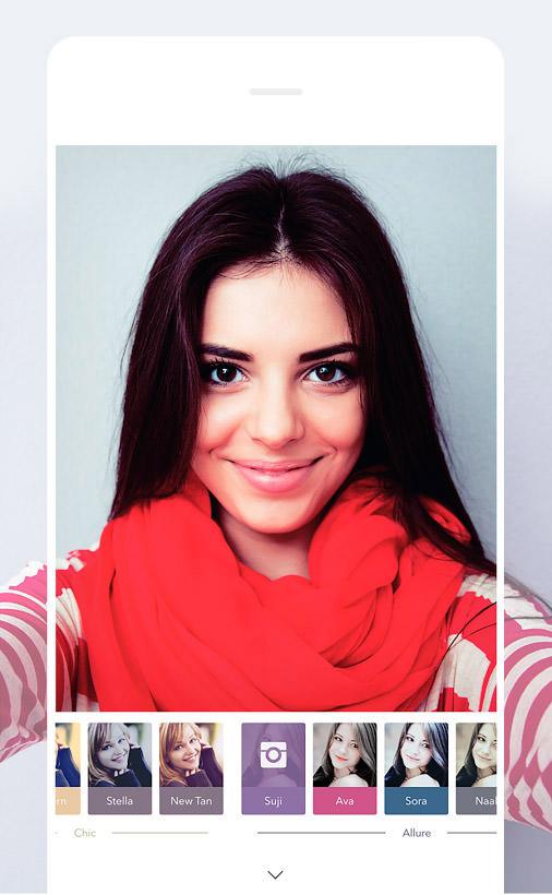 5 App Gratis per Selfie Perfetti su Android - Retrica