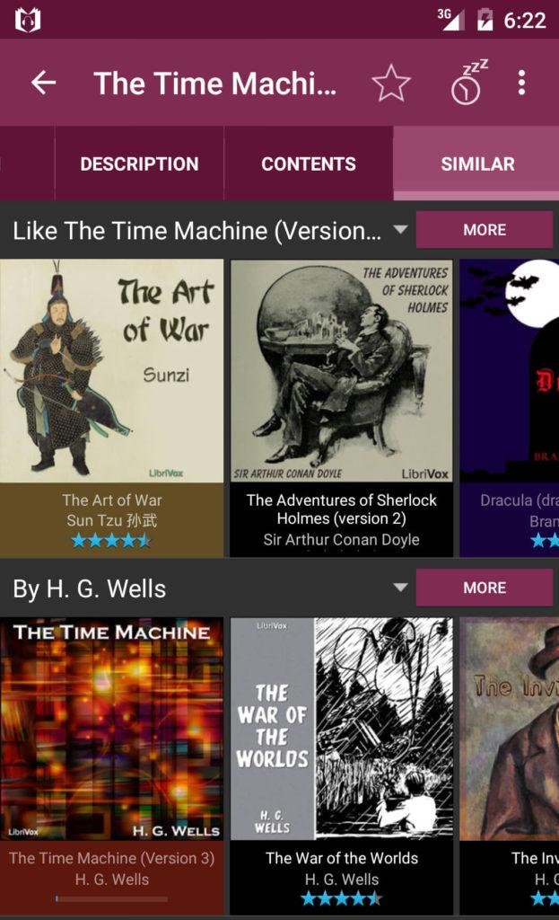 App Gratis per Audiolibri su Android - LibriVox Audio