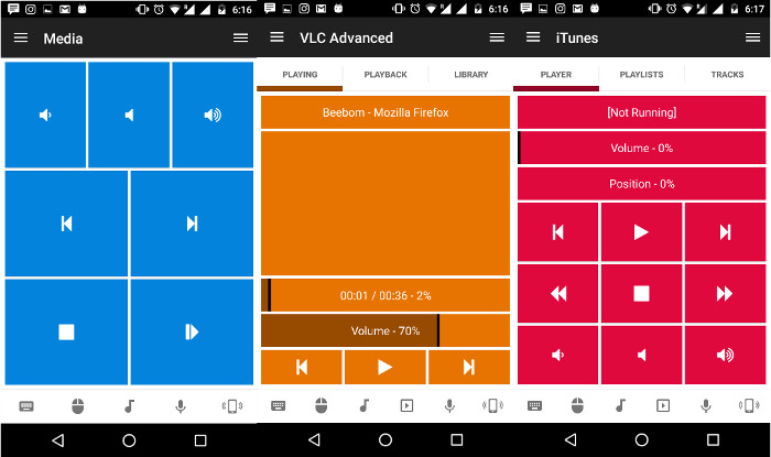 Come Controllare da Remoto il PC Windows da Android - Unified Remote VLC Manager