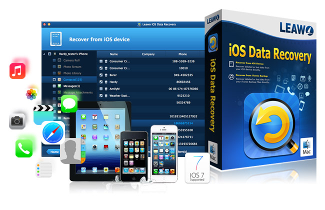 Come Recuperare File Cancellati su iPhone e iPad - Leawo iOS Data Recovery