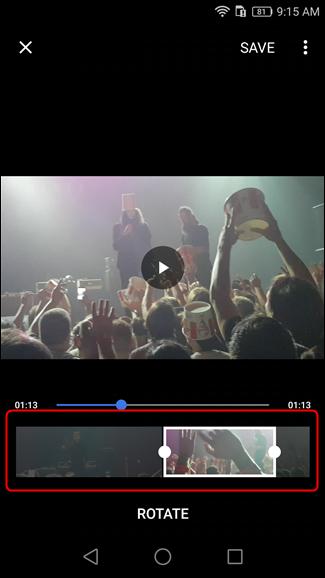 Come Tagliare Video su Android - Strumento taglia