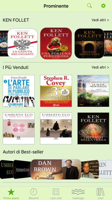 Le Migliori 3 App Gratis per Audiolibri su iPhone e iPad - Libri e Audiolibri in Italiano