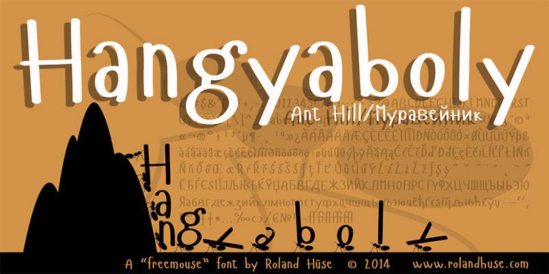 20 Font per Bambini da Scaricare Gratis - Hangyaboly