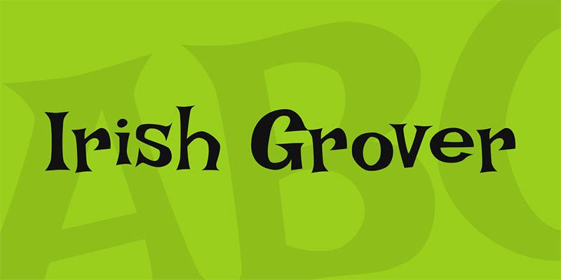 20 Font per Bambini da Scaricare Gratis - Irish Grover