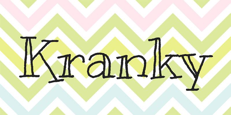 20 Font per Bambini da Scaricare Gratis - Kranky