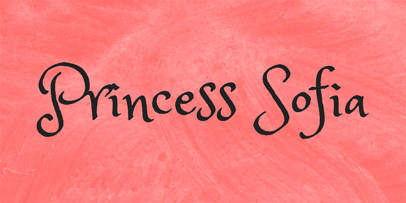 20 Font per Bambini da Scaricare Gratis - Princess Sofia