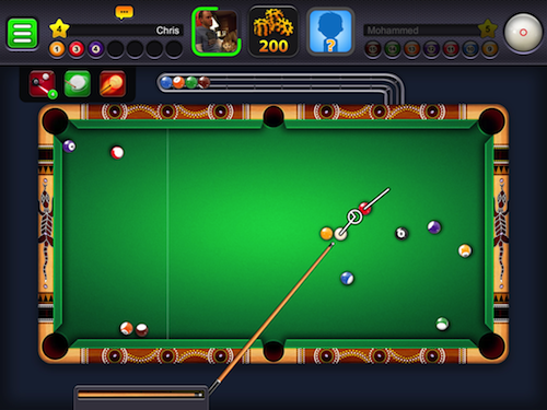 28 Giochi Multiplayer per iOS per Combattere la Noia - 8 Ball Pool
