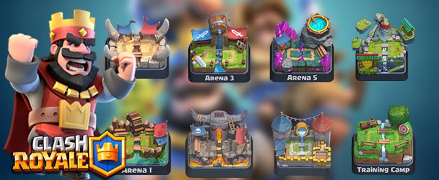 28 Giochi Multiplayer per iOS per Combattere la Noia - Clash Royale
