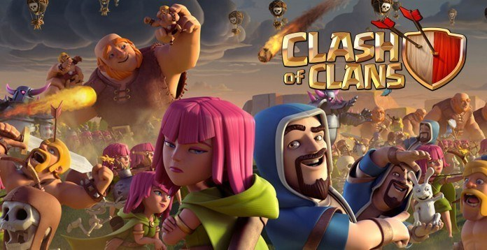 28 Giochi Multiplayer per iOS per Combattere la Noia - Clash of Clans