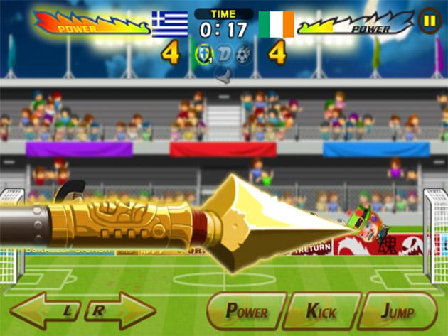 28 Giochi Multiplayer per iOS per Combattere la Noia - Head Soccer