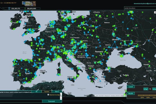 28 Giochi Multiplayer per iOS per Combattere la Noia - Ingress