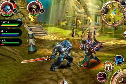 28 Giochi Multiplayer per iOS per Combattere la Noia - Order & Chaos Online