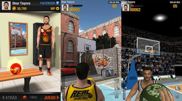 28 Giochi Multiplayer per iOS per Combattere la Noia - Real Basketball