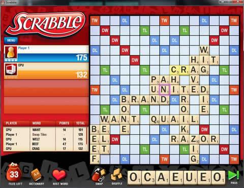 28 Giochi Multiplayer per iOS per Combattere la Noia - Scrabble Free