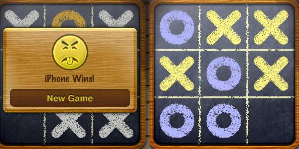 28 Giochi Multiplayer per iOS per Combattere la Noia - Tic Tac Toe Free