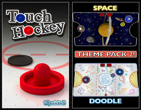 28 Giochi Multiplayer per iOS per Combattere la Noia - Touch Hockey FS5